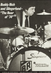 Buddy Rich Slingerland advert (1974)