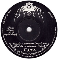 Jeepster by T-Rex (A-side)