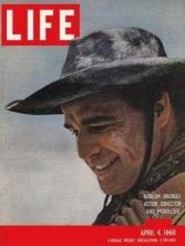 Marlon Brando in Life magazine, 1960