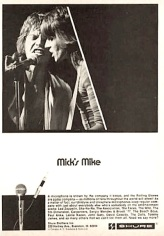 Mick Jagger Shure advert (1975)