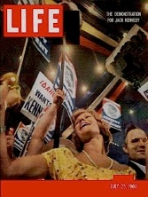 Democratic National Convention in Life magazine, 1960