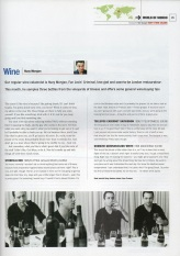 Huey Morgan's Wine Column from Mondo magazine (Issue 1)