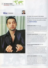 Huey Morgan's Wine Column from Mondo magazine (Issue 3)