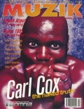 Carl Cox on the cover of Muzik (1995)