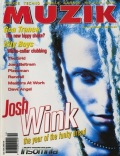 Josh Wink on the cover of Muzik (1995)