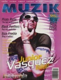 Junior Vasquez on the cover of Muzik (1995)